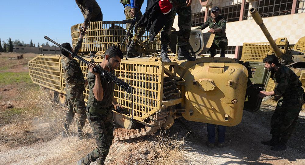L'armée syrienne prend le contrôle d'une importante base des terroristes