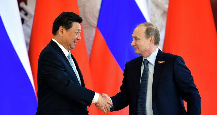 Le président russe Vladimir Poutine et le président chinois Xi Jinping