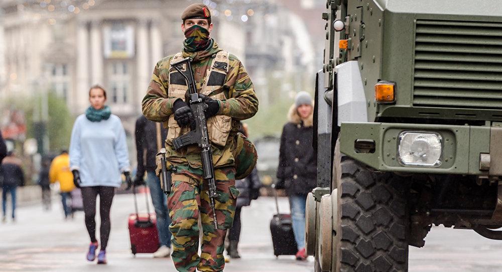 Un militaire belge
