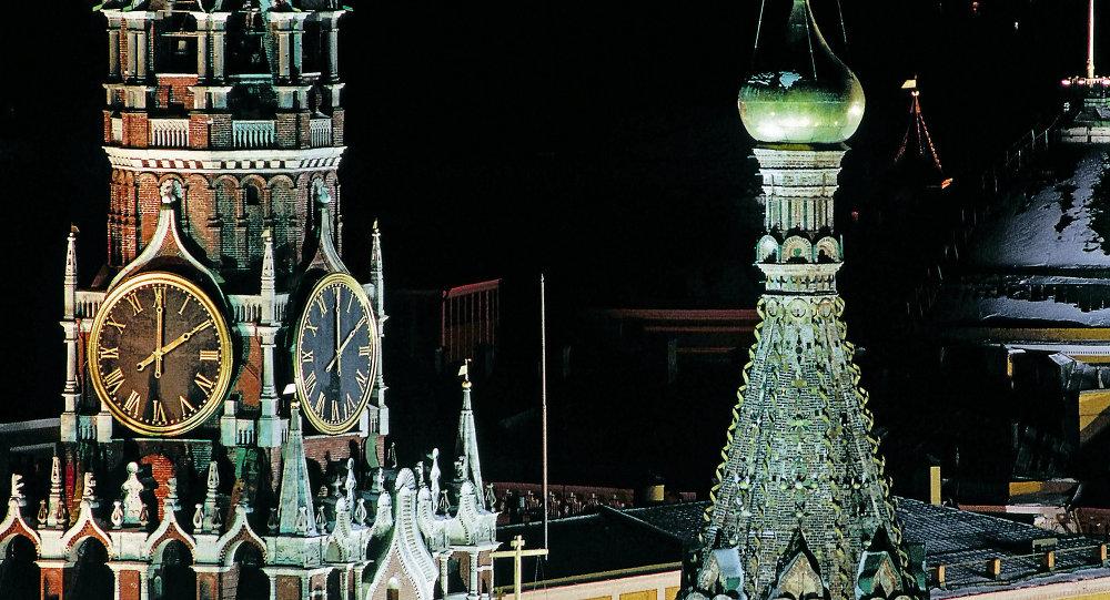 Les horloges à carillon du Kremlin