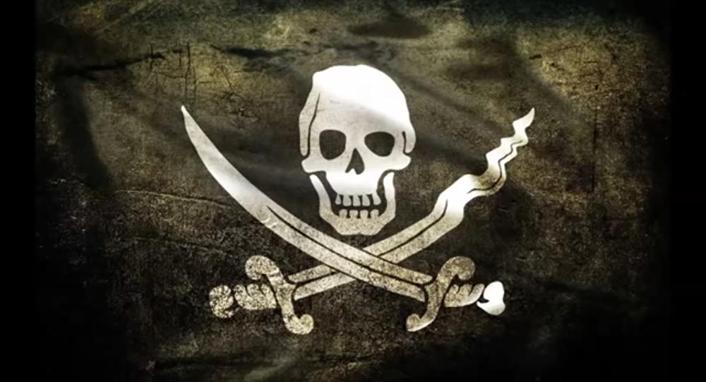 Un pavillon pirate
