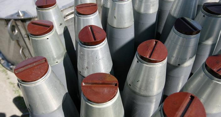 La destruction des armes chimiques