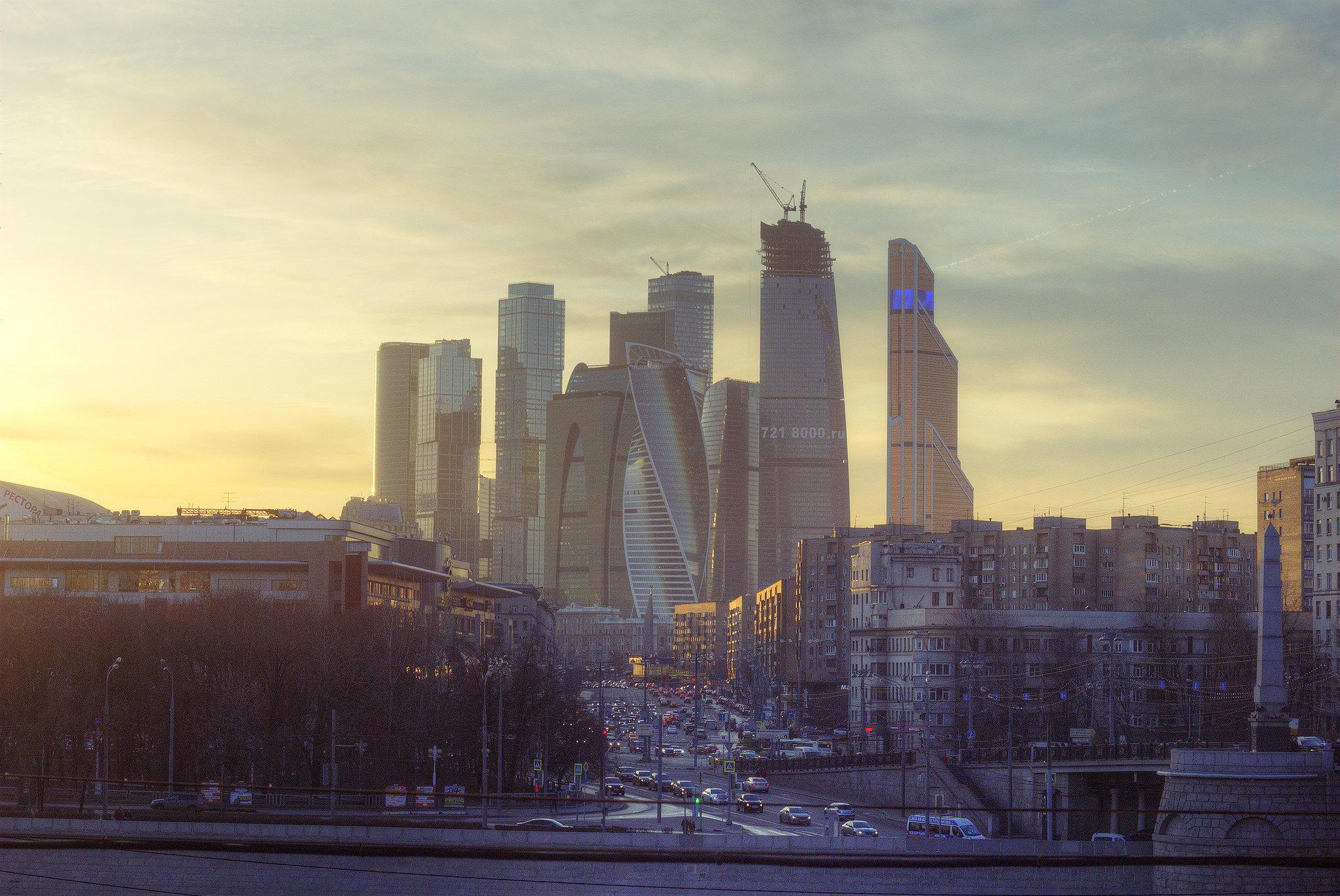 Quartier Moskva City