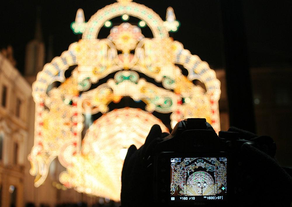 L'esprit de Noël à Moscou