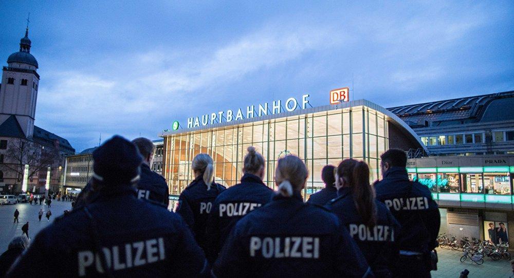 Police à Cologne
