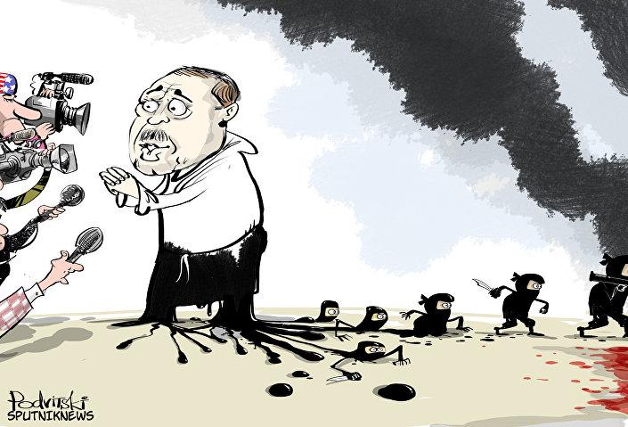 Cet Erdogan éclaboussé par le pétrole de Daech