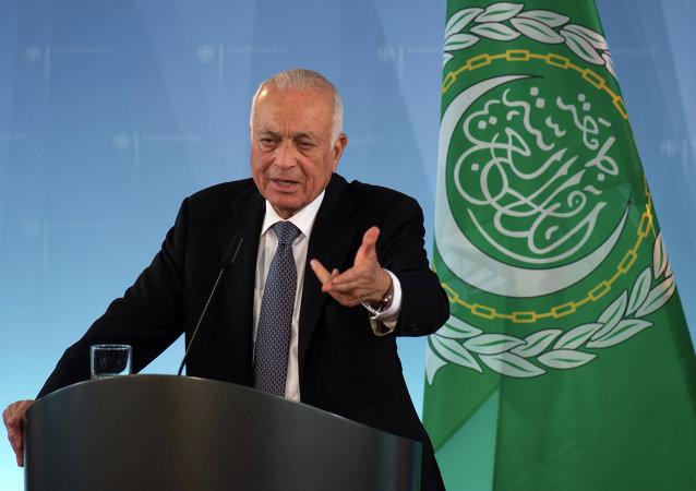 Le secrétaire général de la Ligue arabe Nabil el-Arabi