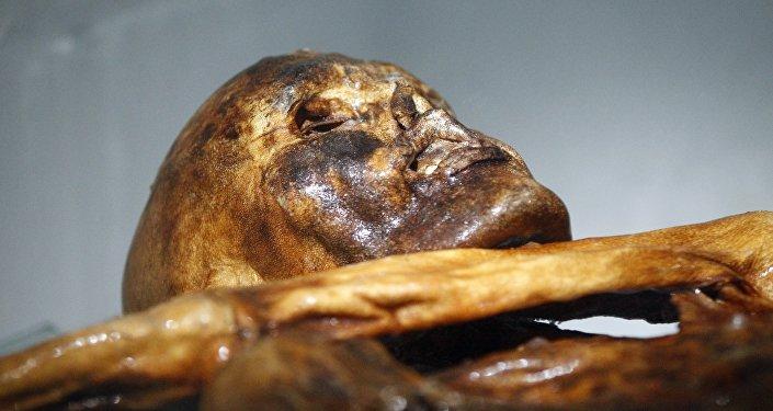 La momie d'Otzi