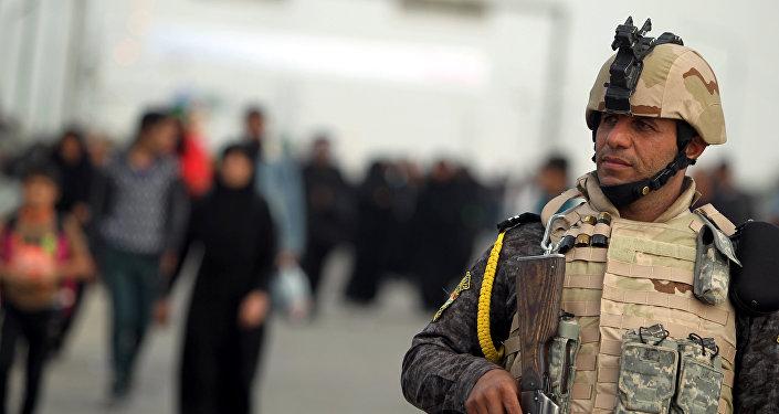 Forces de sécurité irakiennes