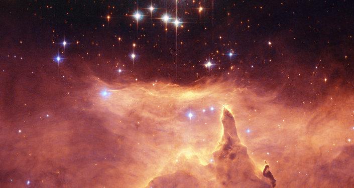 L'amas d'étoiles