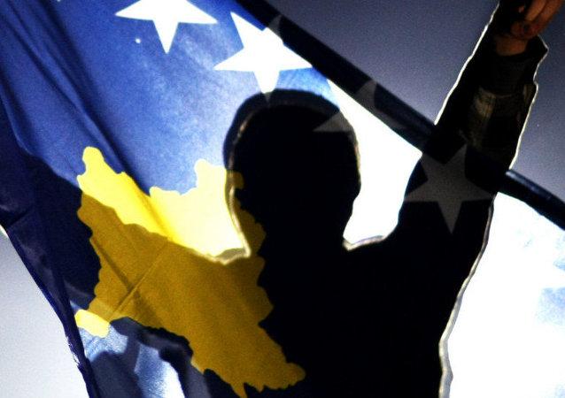 Drapeau de Kosovo