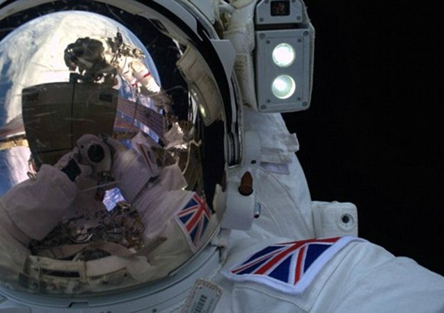 L'astronaute britannique Tim Peake
