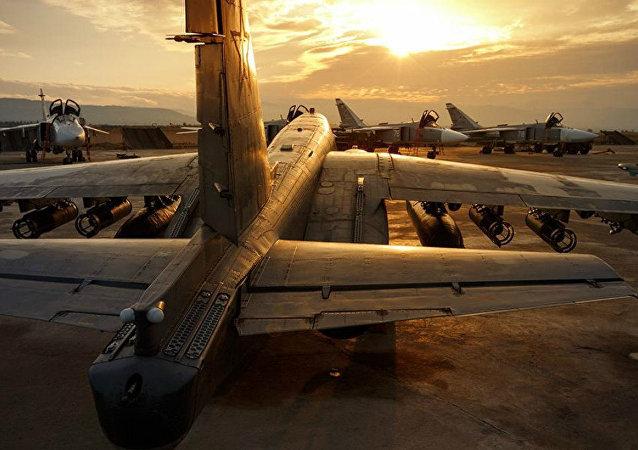 Des avions de combat russes en Syrie