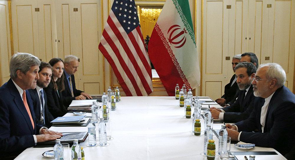 John Kerry et Mohammad Javad Zarif à Vienne