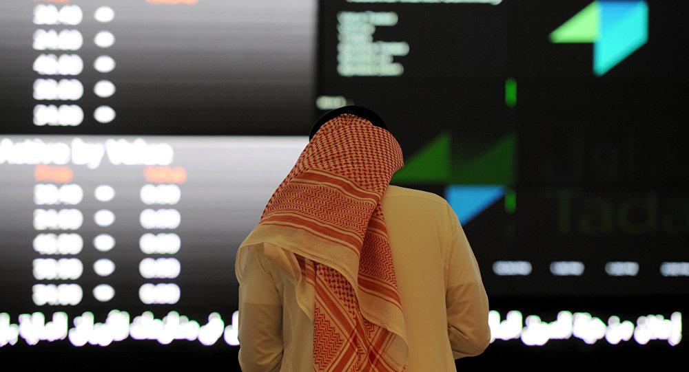 Bourse saoudienne en chute