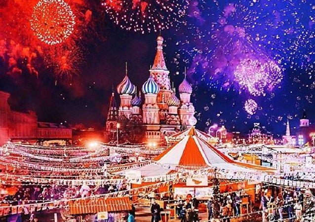 Féérie hivernale de Moscou