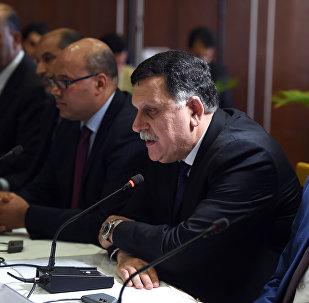 Le premier ministre libyen, Fayez al-Sarraj