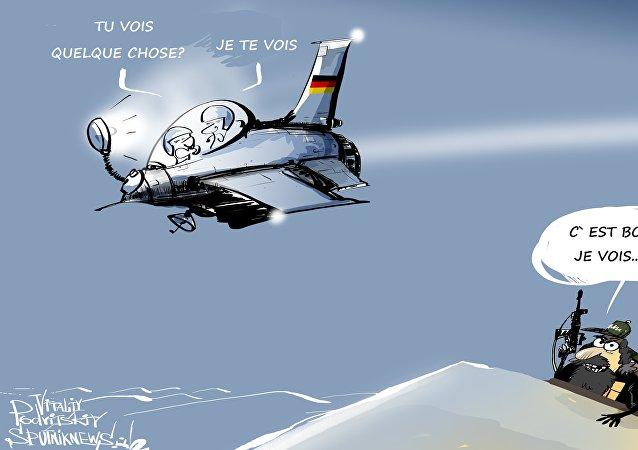 Les pilotes allemands en Syrie gênés... par leurs propres avions