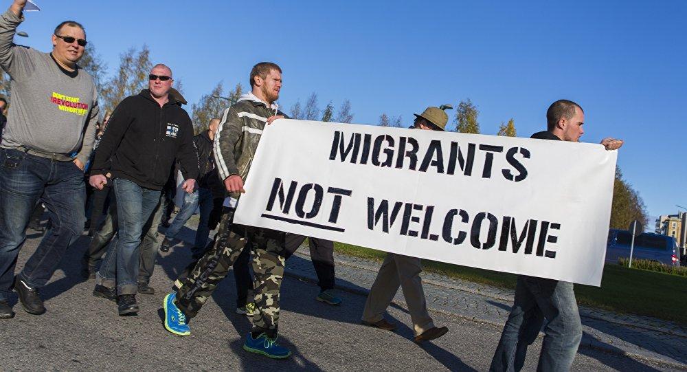 Manifestation anti-migrants