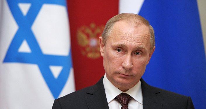 Vladímir Putin, presidente de Rusia durante su visita en Israel, foto de archivo