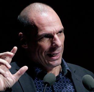 L'ancien ministre grec des Finances, Yanis Varoufakis