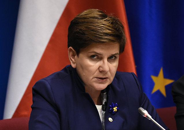 La première ministre polonaise Beata Szydło