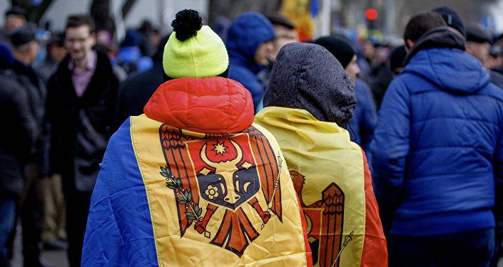Moldavie, protestations de masse