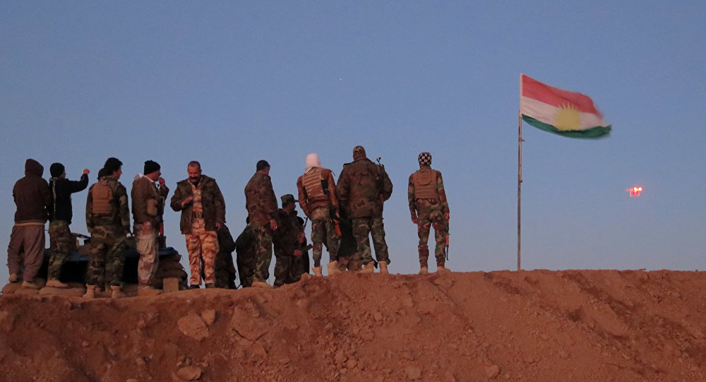 Des Peshmergas irakiens