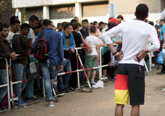 Migrants en Allemagne