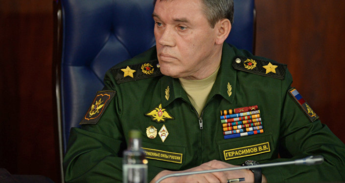 Le chef d'état-major des forces armées russes Valeri Guerassimov