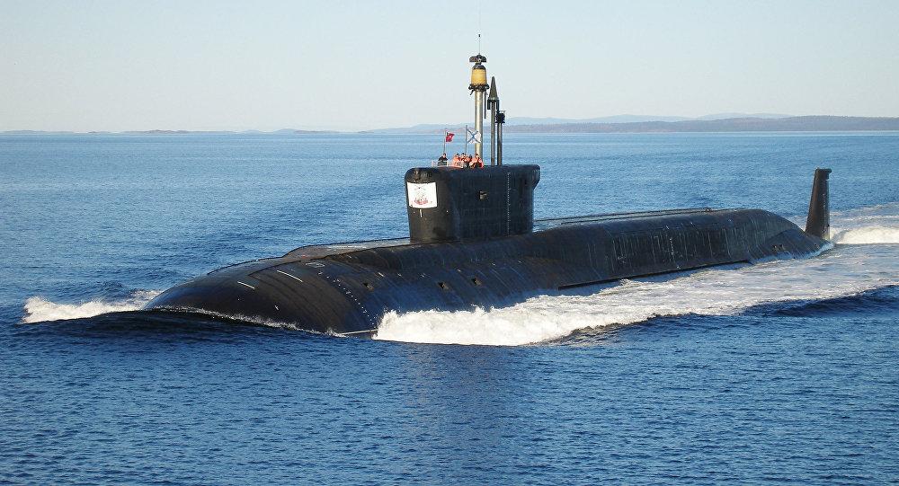 Le sous-marin russe  Iouri Dolgorouki