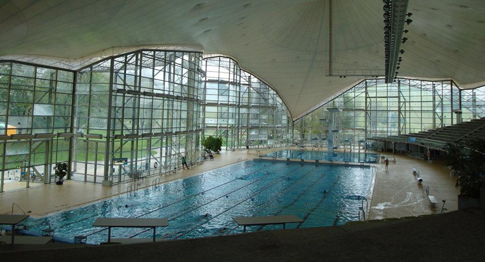 Une piscine municipale