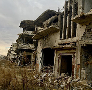 La ville syrienne de Homs