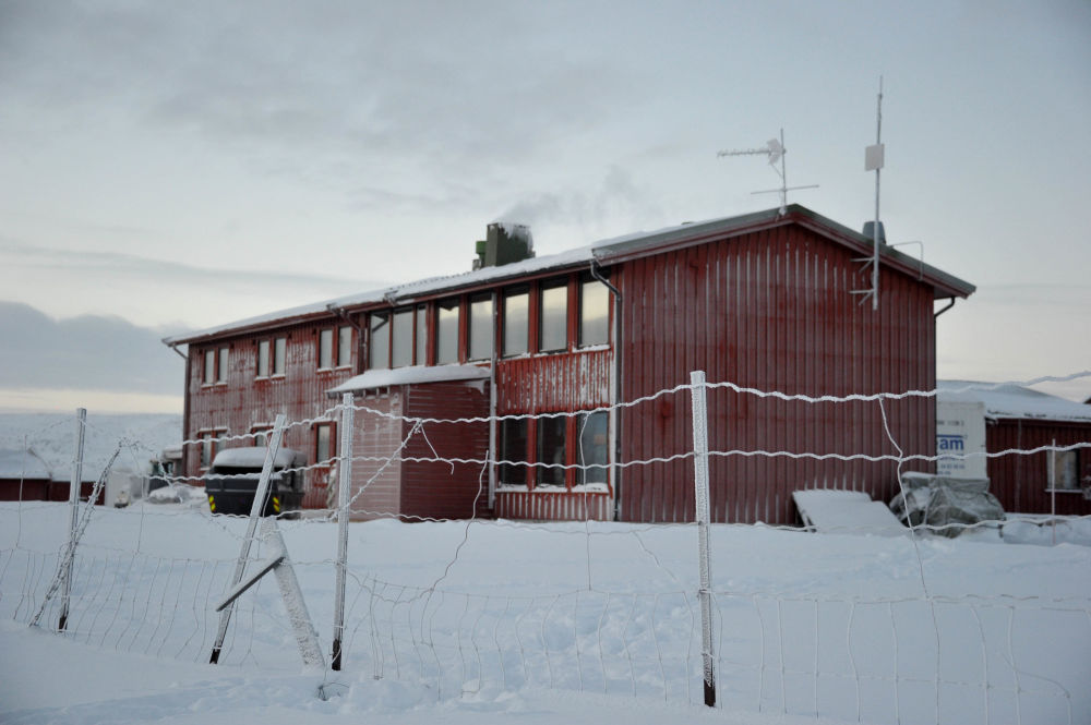 Le camp de réfugiés en Norvège