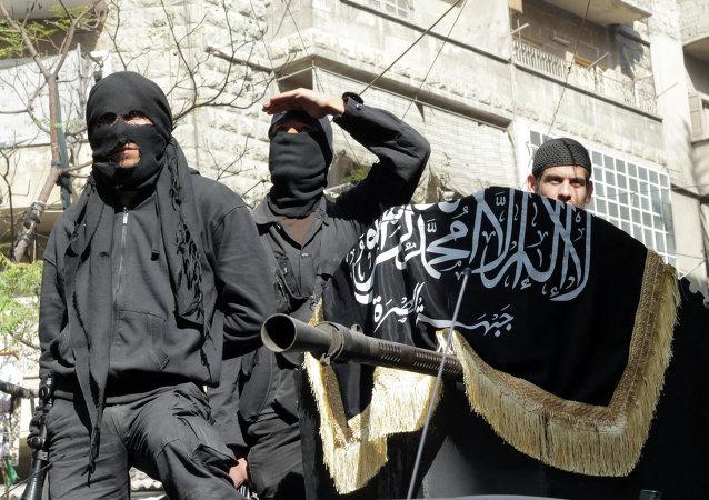 Combatants du Front al-Nosra
