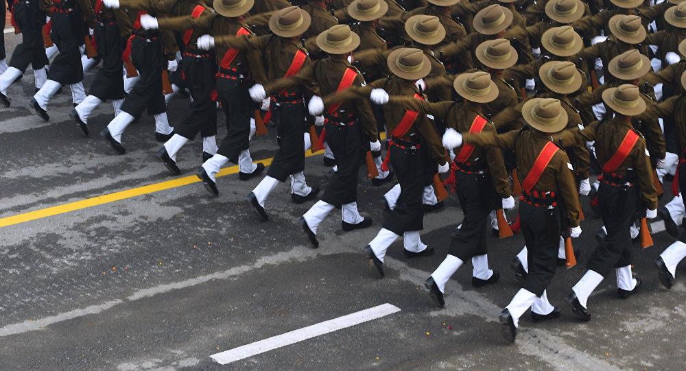 parade militaire du Republic Day