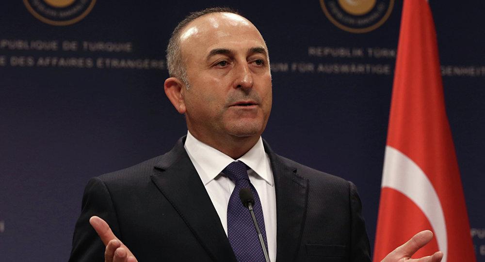 Le chef de la diplomatie turque Mevlüt Çavuşoğlu