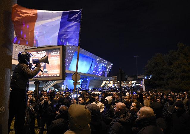 la mobilisation des taxis en France
