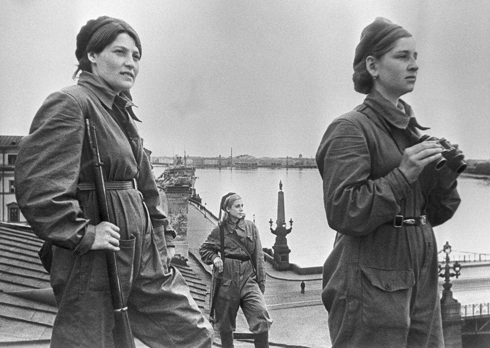Le blocus de Leningrad en images