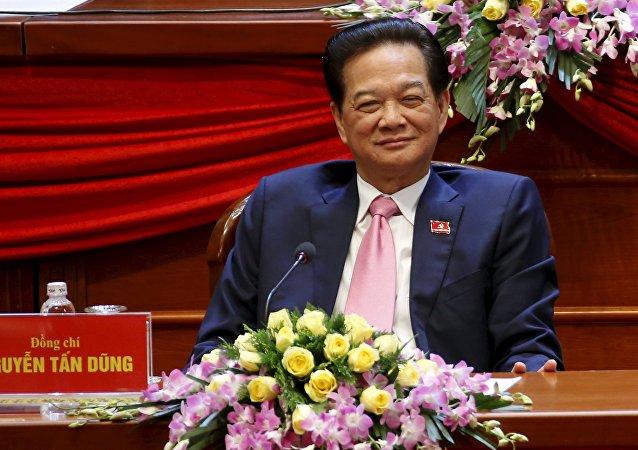 Le réformateur Nguyen Tan Dung, actuellement premier ministre du Vietnam