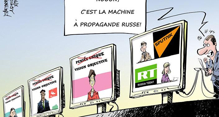 Fermer Sputnik et RT pour contrer la propagande russe?