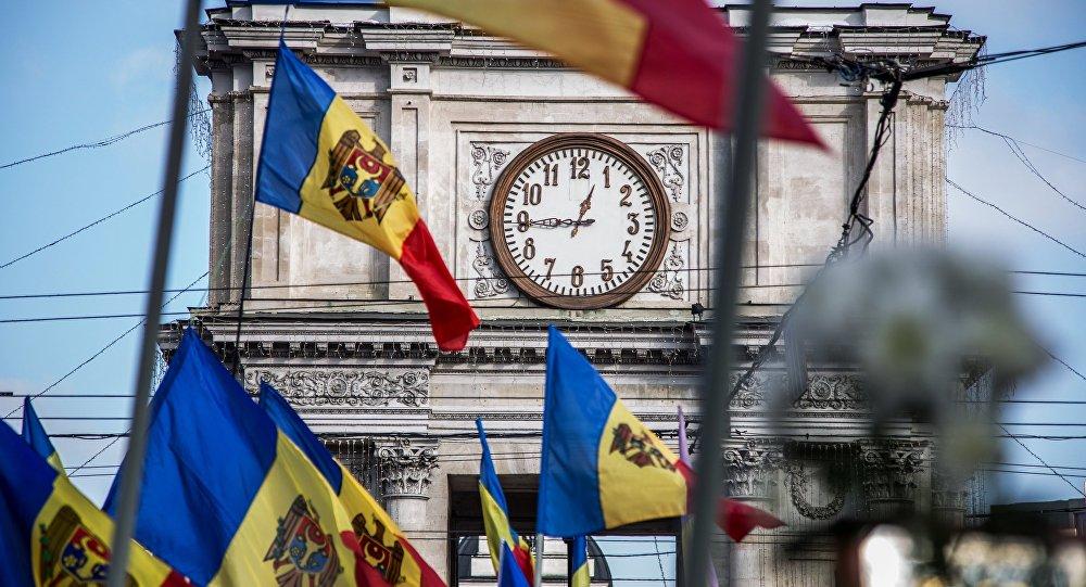 La protestation en Moldavie