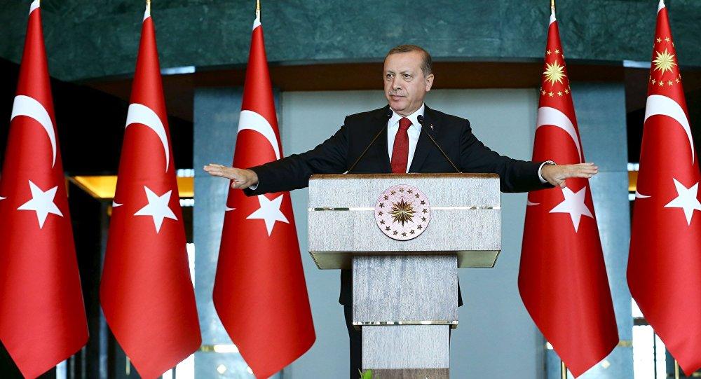 Le président turc Recep Tayyip Erdogan