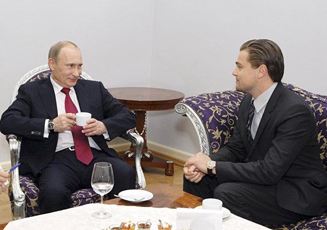 Vladimir Putine et DiCaprio