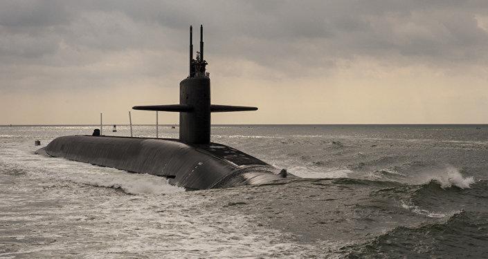 Le sous-marin US Maryland de classe Ohio