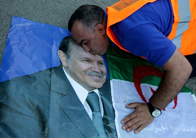 Portrait de Abdelaziz Bouteflika. Photo d'archive