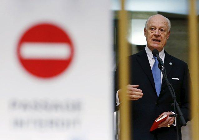 L'émissaire de l'Onu, Staffan de Mistura a annoncé que les pourparlers de paix sur la Syrie s'arrêtaient pour reprendre