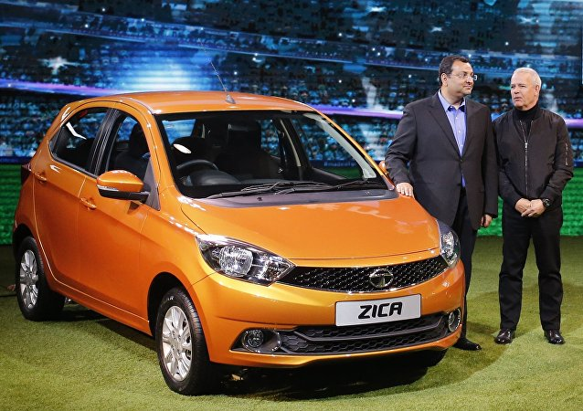 Une voiture Zica