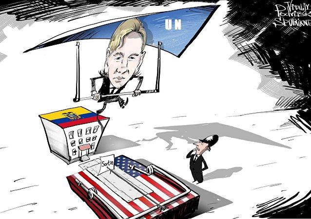 Assange prend son envol