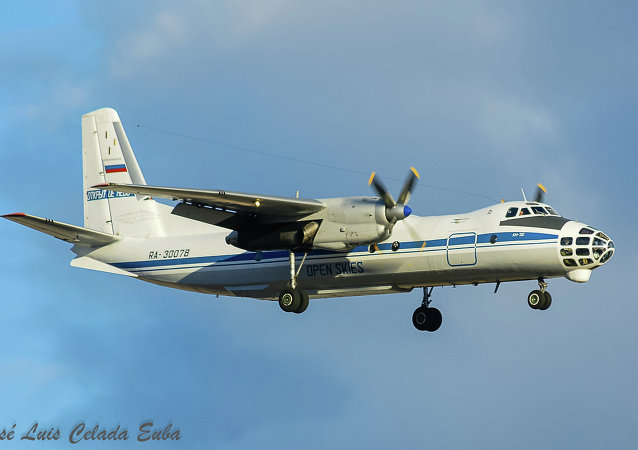 Un avion Antonov An-30b